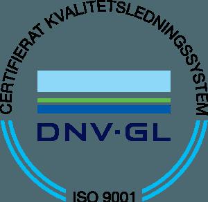Bonliva har certifikat för ISO 9001