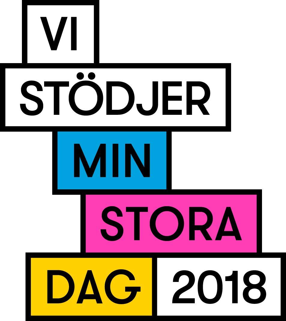 Vi stödjer Min Stora Dag 2017
