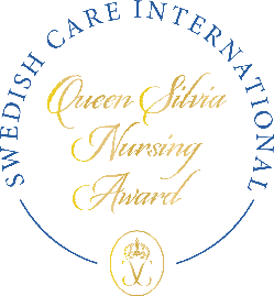 Vi stödjer Queen Silvia Nursing Award